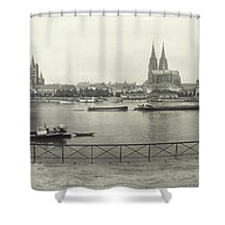 Cologne - Germany - C. 1921 Shower Curtain by International  Images
