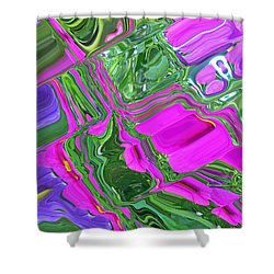 Color Craze Shower Curtain by Aimee L Maher Photography and Art Visit ALMGallerydotcom