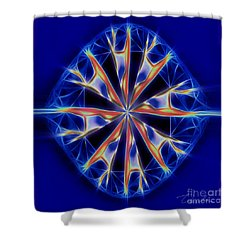 Color Me Shower Curtain by Danuta Bennett
