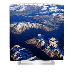 Colorado Rocky Mountains Planet Earth Shower Curtain by James BO  Insogna