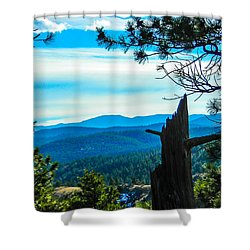 Shower Curtain featuring the photograph Colorado View by Shannon Harrington