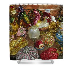 Shower Curtain featuring the photograph  Fancy And Colorful by Tina M Wenger