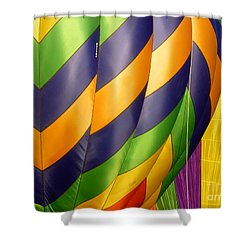 Colors 5 Shower Curtain