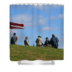 Shower Curtain featuring the photograph Colors Of Yesteryear by Paul Mashburn