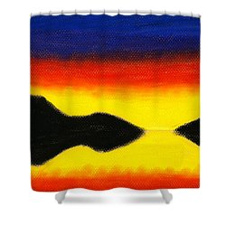 Colours Of Sky 2 Shower Curtain by Hakon Soreide