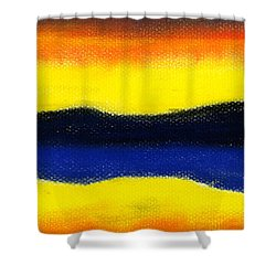 Colours Of Sky Shower Curtain by Hakon Soreide