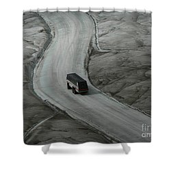 Columbia Icefield Glacier Adventure Shower Curtain