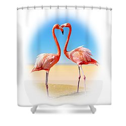 Come Fly With Me Shower Curtain by Kristin Elmquist