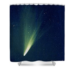 Comet West, 1976 Shower Curtain by Science Source