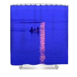 Shower Curtain featuring the photograph Coming Home by Francine Frank