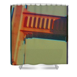 Shower Curtain featuring the digital art Coming In by Richard Laeton