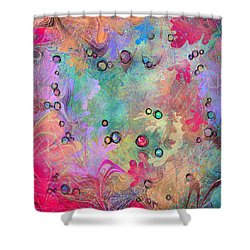 Community Shower Curtain by Rachel Christine Nowicki