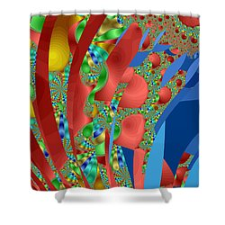 Complex Garden Shower Curtain