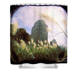 Concilation Shower Curtain by Andrew Paranavitana