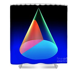 Conic Section Hyperbola 6 Shower Curtain