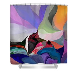 Conjuncture Shower Curtain by David Lane