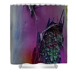 Shower Curtain featuring the digital art Connect by Richard Laeton