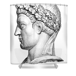 Constantine I (d. 337) Shower Curtain by Granger