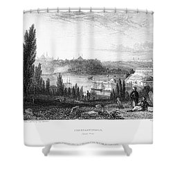 Constantinople, 1833 Shower Curtain by Granger