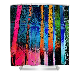 Shower Curtain featuring the photograph Construct by David Pantuso
