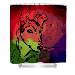 Contemplation Shower Curtain by George Pedro