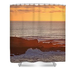 Shower Curtain featuring the photograph Contemplation by Susan Rovira