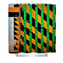 Contradiction Shower Curtain by Skip Hunt