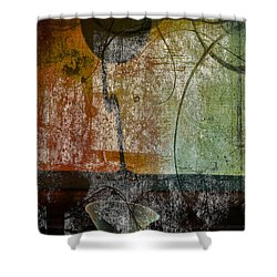 Conversation Decline Shower Curtain by Jerry Cordeiro