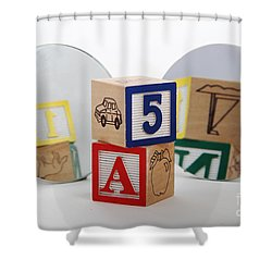 Convex And Concave Mirrors Shower Curtain
