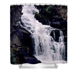 Cool Clear Waters Shower Curtain by Sharon Elliott