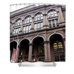 Cooper Union Shower Curtain by David Bearden