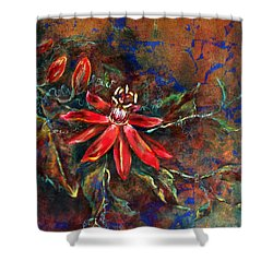 Copper Passions Shower Curtain