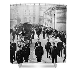 Cops, 1922 Shower Curtain by Granger
