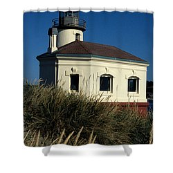 Coquille Light Shower Curtain by Sharon Elliott