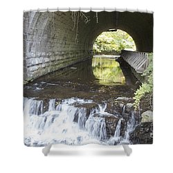 Shower Curtain featuring the photograph Corbetts Glen by William Norton
