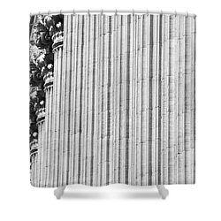 Shower Curtain featuring the photograph Corinthian Columns by John Schneider