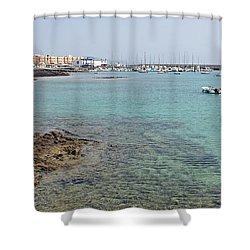 Corralejo Shower Curtain