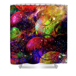 Cosmic Confusion Shower Curtain