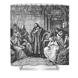 Council Of Constance, 1414 Shower Curtain by Granger