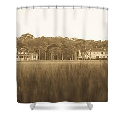 Shower Curtain featuring the photograph Country Estate by Shannon Harrington