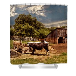 Country Life Shower Curtain by Lourry Legarde