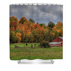 Country Time Shower Curtain by Lori Deiter