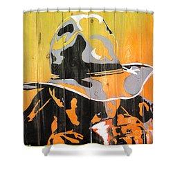 Cowboy Coffee Shower Curtain