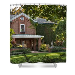Shower Curtain featuring the photograph Cowles House by Joseph Yarbrough