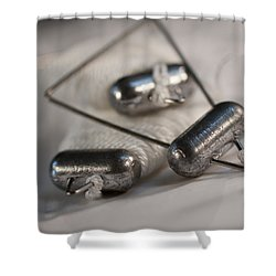 Crab Lines Shower Curtain