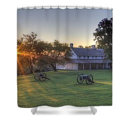 Cravens House Shower Curtain by David Troxel