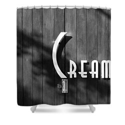 Shower Curtain featuring the photograph Cream by Jeannette Hunt