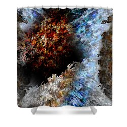 Creation Shower Curtain by Christopher Gaston
