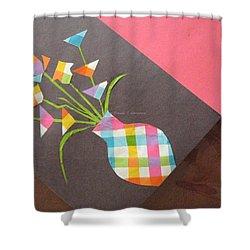 Creative Mind Unfolds  Shower Curtain by Sonali Gangane