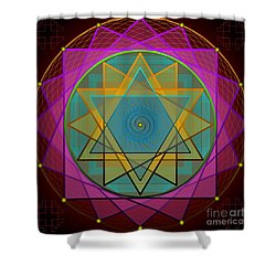 Creative Power 2012 Shower Curtain by Kathryn Strick